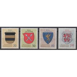 Liechtenstein - 1965 - No 399/402 - Armoiries