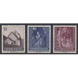 Liechtenstein - 1964 - No 394/396 - Noël