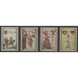 Liechtenstein - 1962 - No 373/376 - Peinture