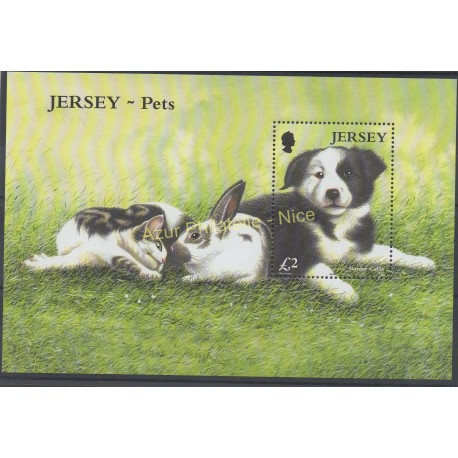 Jersey - 2003 - Nb BF 50 - Dogs