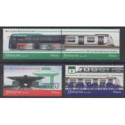 Malaisie - 2017 - No 1910/1913 - Chemins de fer