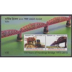 Bangladesh - 2017 - No BF61 - Chemins de fer - Ponts