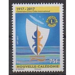 Nouvelle-Calédonie - 2017 - No 1300 - Rotary - Lions club