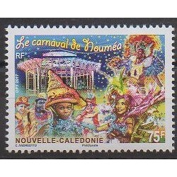 Nouvelle-Calédonie - 2017 - No 1306 - Masques ou carnaval