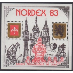 France - Feuillets CNEP - 1983 - No CNEP 4A - Sites