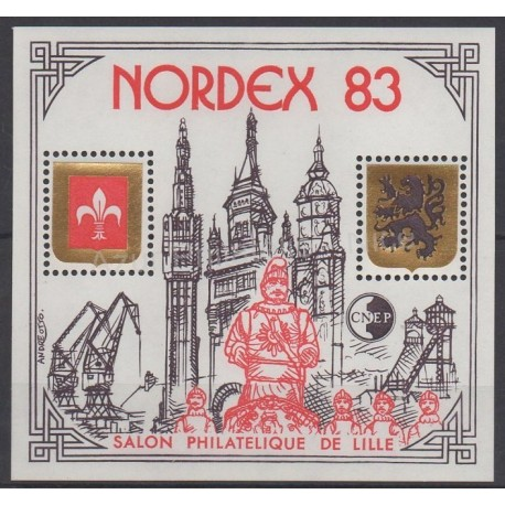 France - Feuillets CNEP - 1983 - No CNEP 4 - Sites