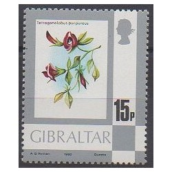 Gibraltar - 1980 - Nb 415 - Flowers