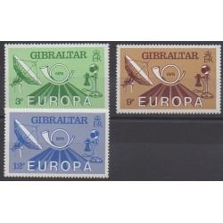 Gibraltar - 1979 - No 393/395 - Service postal - Europa