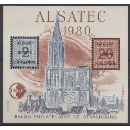 France - Feuillets CNEP - 1980 - No CNEP 1 - Eglises