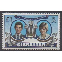 Gibraltar - 1981 - Nb 429 - Royalty