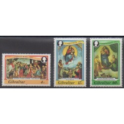 Gibraltar - 1983 - No 480/482 - Noël