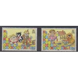 Gibraltar - 1989 - No 573/574 - Enfance - Europa