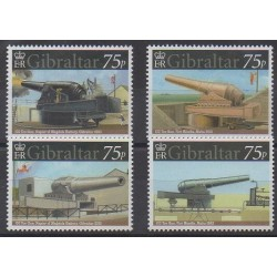 Gibraltar - 2010 - Nb 1359/1362 - Military history