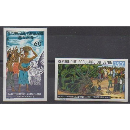Bénin - 1977 - No 406/407 ND