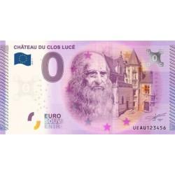 Billet souvenir - Château de Clos LUCE - 2015