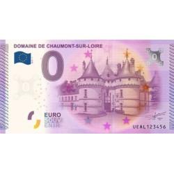 Billet souvenir - Domaine de Chaumot-sur-Loire - 2015