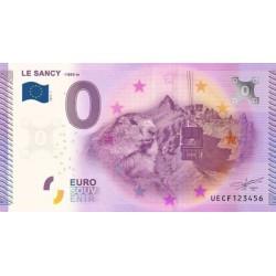 Billet souvenir - Le Mont-Dore - Le Sancy - 2015