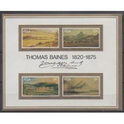 Afrique du Sud - 1976 - No BF3 - Peinture