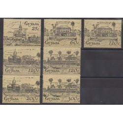 Guyana - 1985 - No 1100/1106 - Monuments