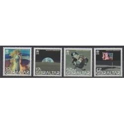 Gibraltar - 2008 - No 1285/1288 - Espace