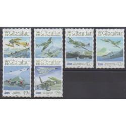 Gibraltar - 2008 - No 1267/1272 - Aviation - Histoire militaire