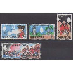 Gibraltar - 1967 - No 203/206
