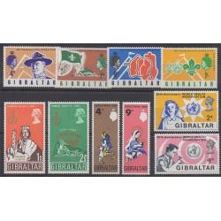 Gibraltar - 1968 - Nb 207/216