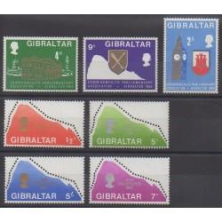 Gibraltar - 1969 - No 217/223