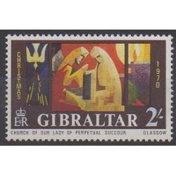 Gibraltar - 1970 - No 238 - Noël