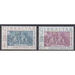 Gibraltar - 1973 - No 301/302 - Noël