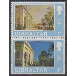 Gibraltar - 1975 - Nb 335/336 - Monuments