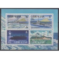Gibraltar - 1995 - Nb BF21 - Boats - Military history