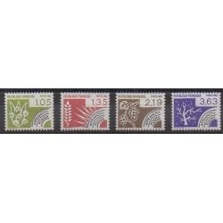 France - Precancels - 1984 - Nb P178/P181