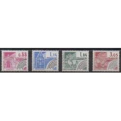 France - Precancels - 1981 - Nb P170/P173