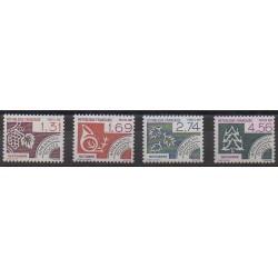 France - Precancels - 1987 - Nb P194/P197