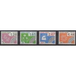 France - Precancels - 1986 - Nb P190/P193