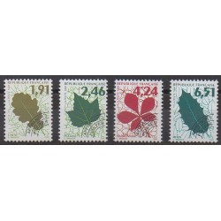 France - Precancels - 1994 - Nb P232/P235 - Trees