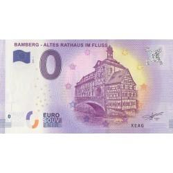 Billet souvenir - Bamberg - Altes Rathaus im Fluss - 2018-1