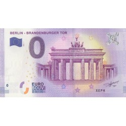 Billet souvenir - Berlin - Brandenburger tor - 2018-1