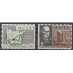 Malte - 1971 - No 422/423 - Littérature