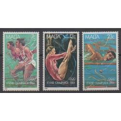 Malta - 1984 - Nb 691/693 - Summer Olympics