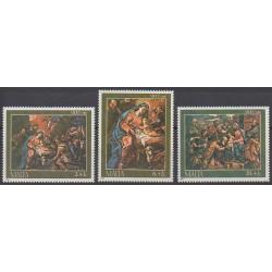 Malta - 1986 - Nb 736/738 - Christmas