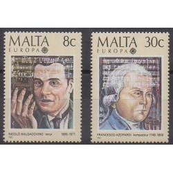 Malta - 1985 - Nb 707/708 - Music - Europa