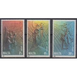 Malte - 1985 - No 717/719 - Noël - Enfance