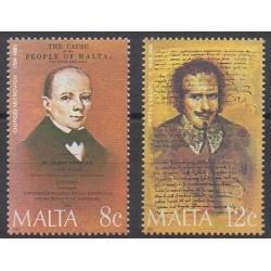 Malta - 1985 - Nb 715/716 - Celebrities