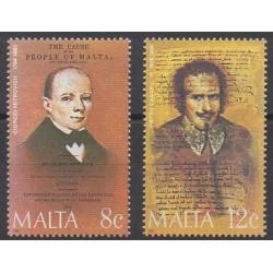 Malte - 1985 - No 715/716 - Célébrités
