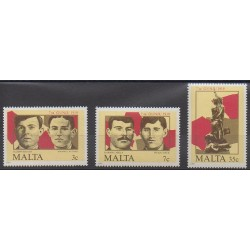 Malte - 1985 - No 709/711 - Histoire