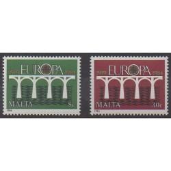 Malte - 1984 - No 685/686 - Europa