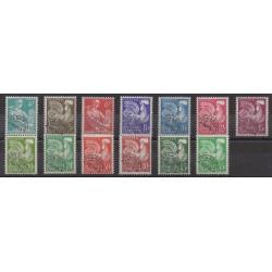 France - Precancels - 1953 - Nb P106/P118
