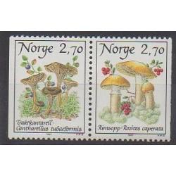 Norvège - 1987 - No 924/925 - Champignons